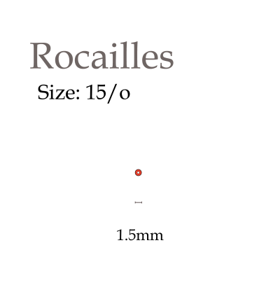 15/o rocailles