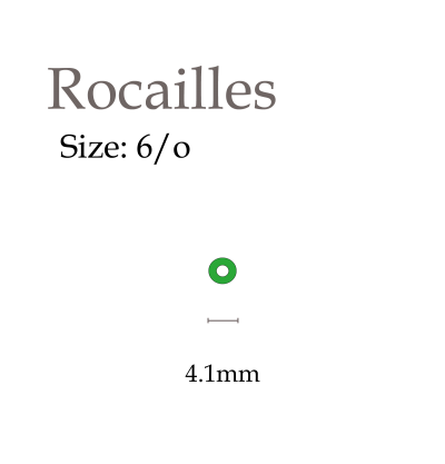 6/o rocailles