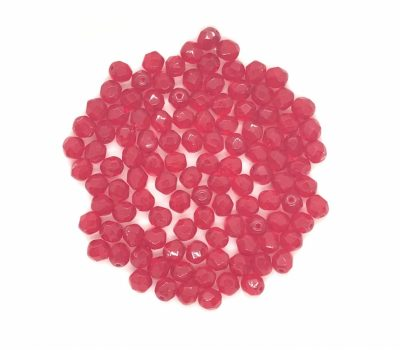 圓形火亮珠 Round Fire-Polished Beads
