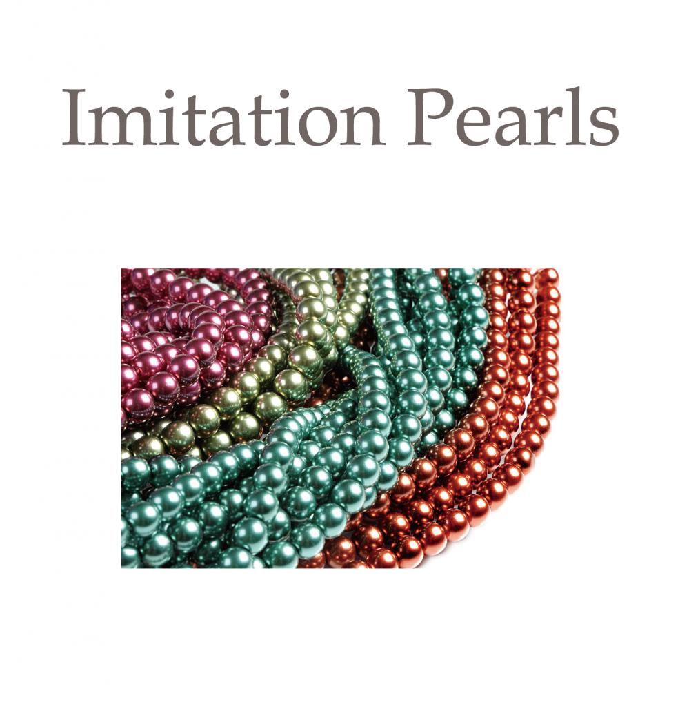 Imitation Pearls photo