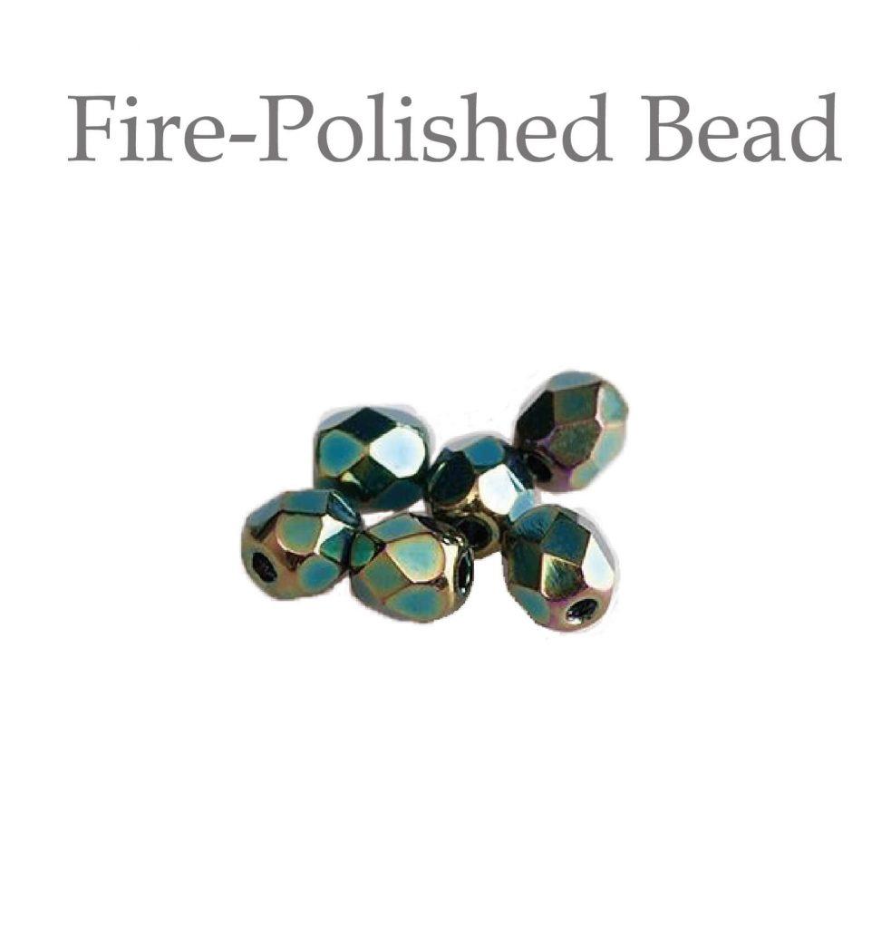 fire polished bead 玻璃珠