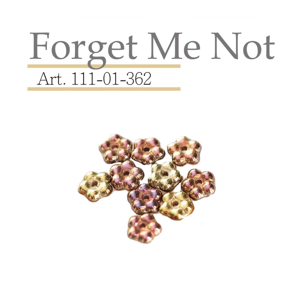 forget me not 玻璃珠