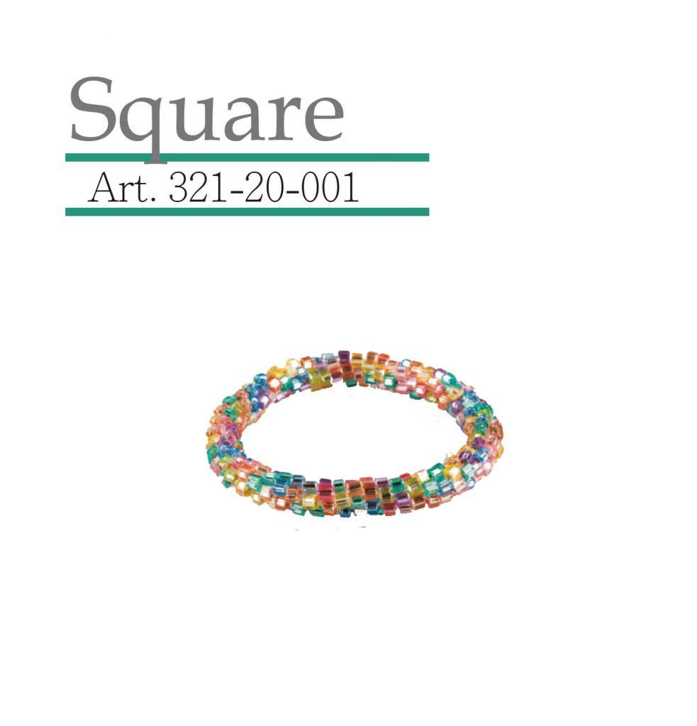 square 玻璃珠