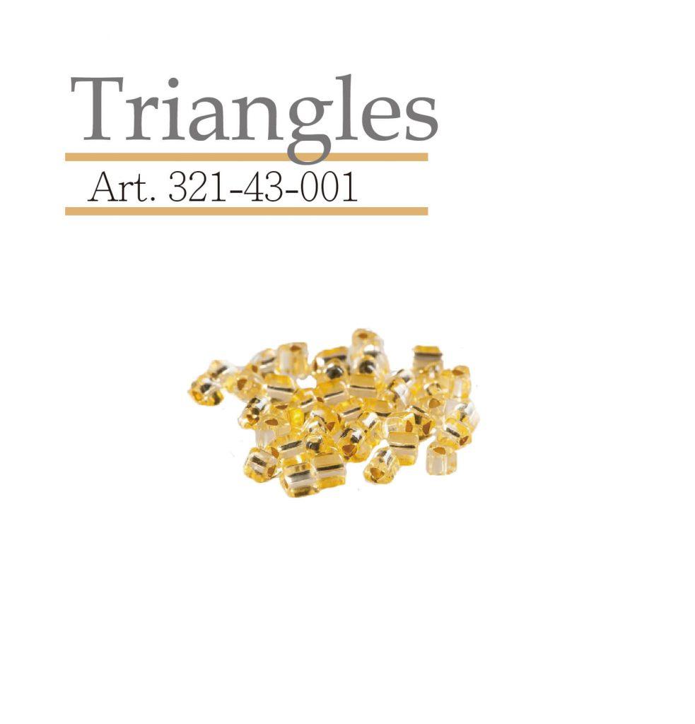 triangles 玻璃珠