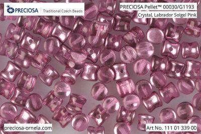 捷克玻璃珠Pellet 00030/G1193