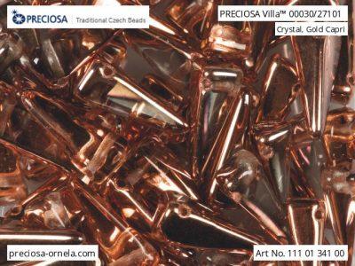 捷克玻璃珠Villa 00030-27101