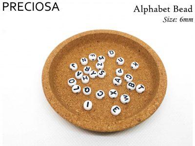 6mm 字母珠